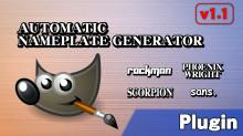 Automatic Nameplate Generator v1.1