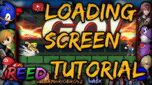 How to make custom loading screens