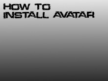 How to install avatar