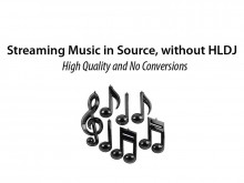 Streaming Music in Source, without HLDJ