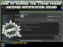 Change the Steam IM Sound