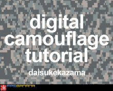 Digital Camouflage Tutorial