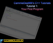 C++: Your First Program
