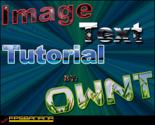 Image Text Tutorial
