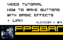Video, Making link buttons in Adobe Flash