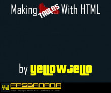 Making Tables with HTML