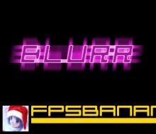 Flashy Motion Blur Text