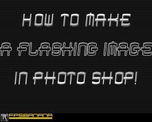 How To Make a Flashing Image