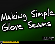 Making Seams for Glove Skins