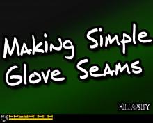 Making Seams for Glove Skins