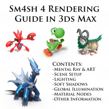 Sm4sh 3ds Max Rendering Guide WIP