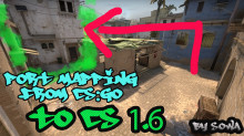 Port mapping from cs:go to cs 1.6