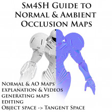 SM4SH Guide to Normal & Ambient Occlusion Maps