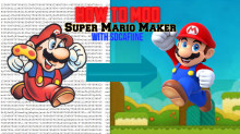 How To EASILY Mod Super Mario Maker With SDCafiine