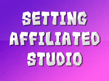 Setting Affiliated Studio