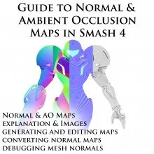 Guide to Normal & Ambient Occlusion Maps in Sm4sh