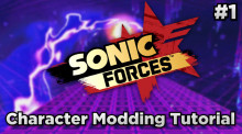Sonic Forces Character Modding