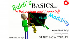 How to mod things in baldi's basics you can't mod.