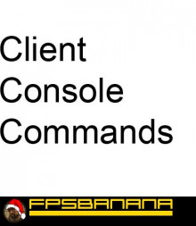 Client Console Commands