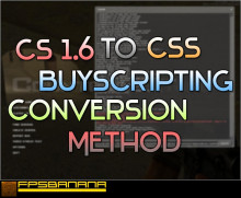 CS to CSS buyscripting conversion Method