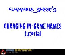Change Player Names