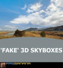 'Fake' 3D Skybox