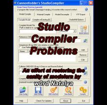 Studio Compiler Issues (CS:S)