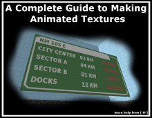 How to make Animated Textures