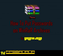 How To Put Passwords on WinRaR Archives