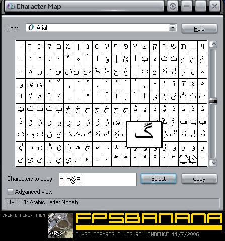 Steam name symbols generator