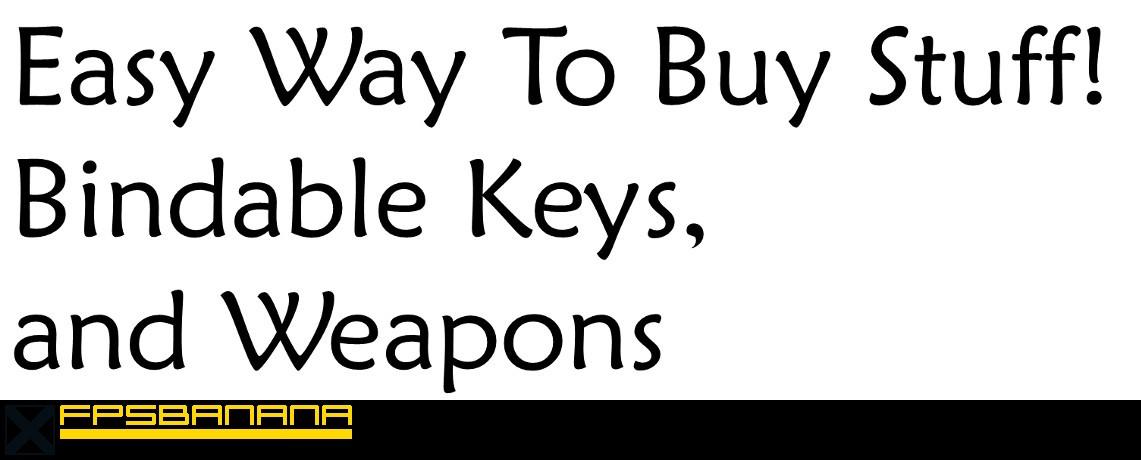 Bind Keys to buy (buy scripts) Tutorial screenshot #1