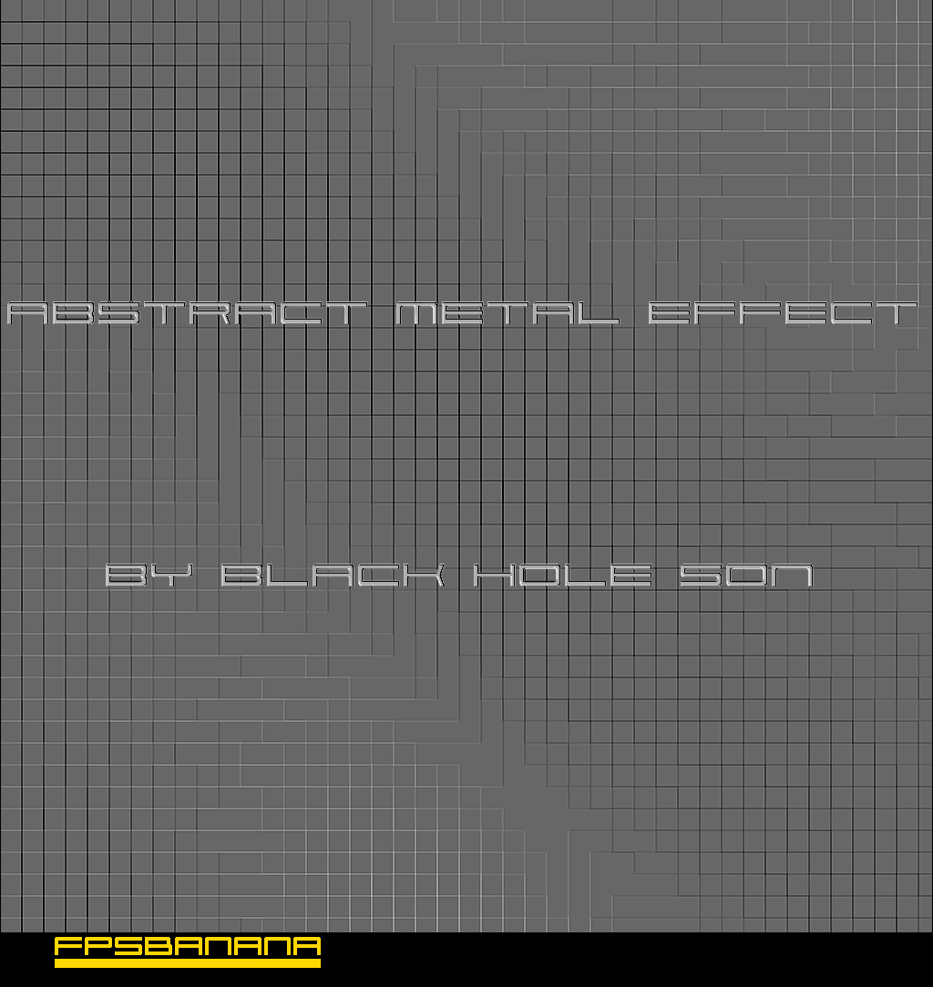 Gimp Abstract Metal Effect