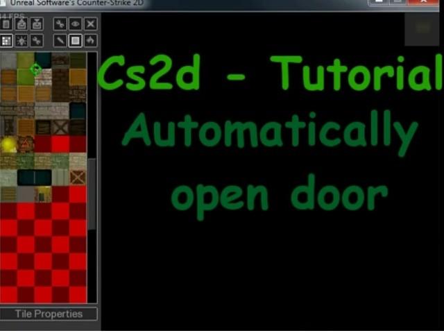 Automatic open door + message Tutorial screenshot #1