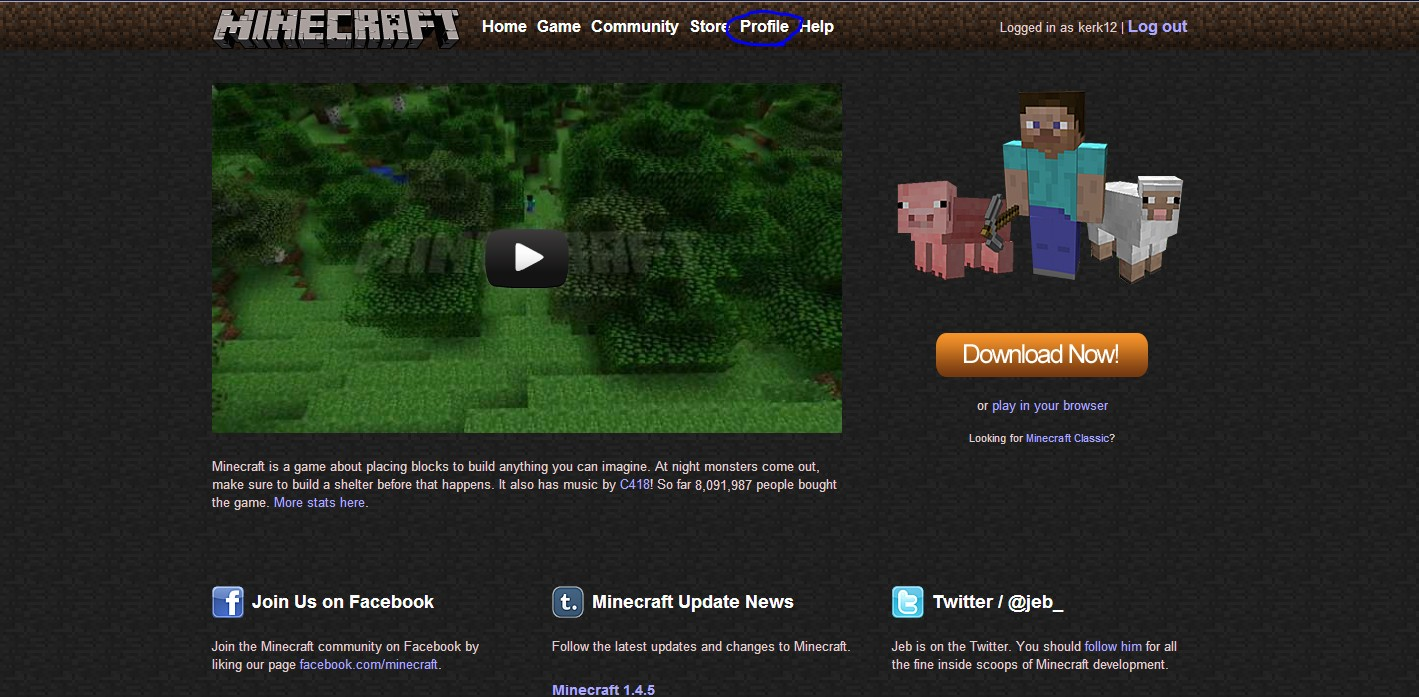 How To Manually Install Skins In Minecraft Minecraft Tutorials - Skins para minecraft pc descargar