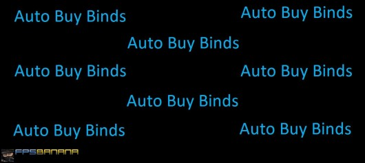 How to Set Up More Than One AutoBuy Bind