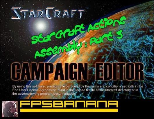 StarGraft Actions Tutorial
