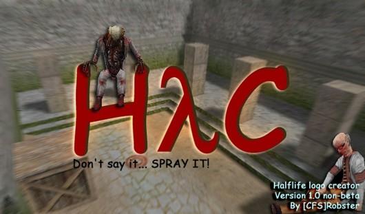 Half Life Logo Creator