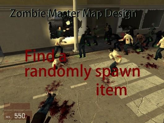 Find a randomly spawn item