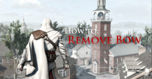 How to Remove Bow from ACIII