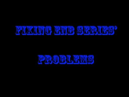 Fixing ENB Series' problems [GTA SA]