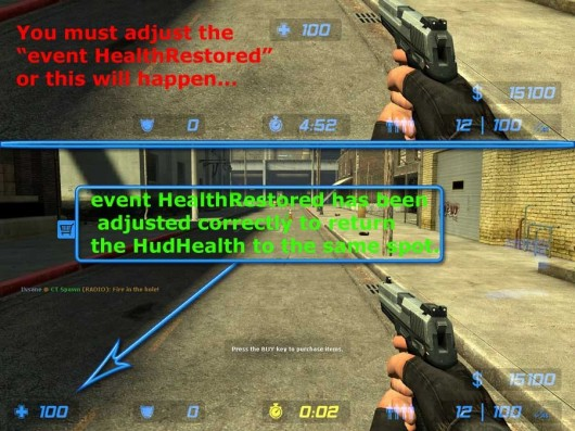Modifying the CSS HUD - Health Flash Animations