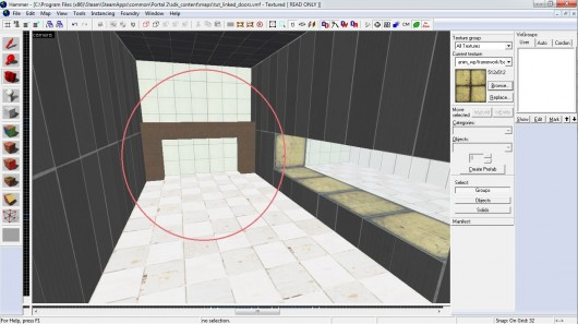 How to make linked_portal_door in hammer correctly