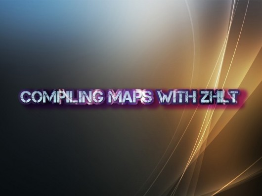 Compiling maps using ZHLT