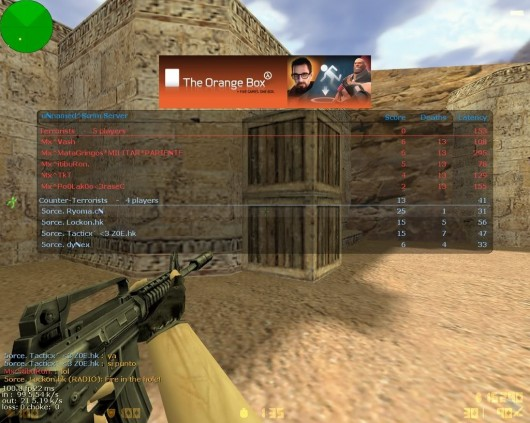 Max acceptable matchmaking ping cs go console command