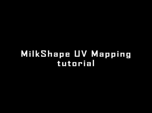 Milkshape UV Mapping tutorial