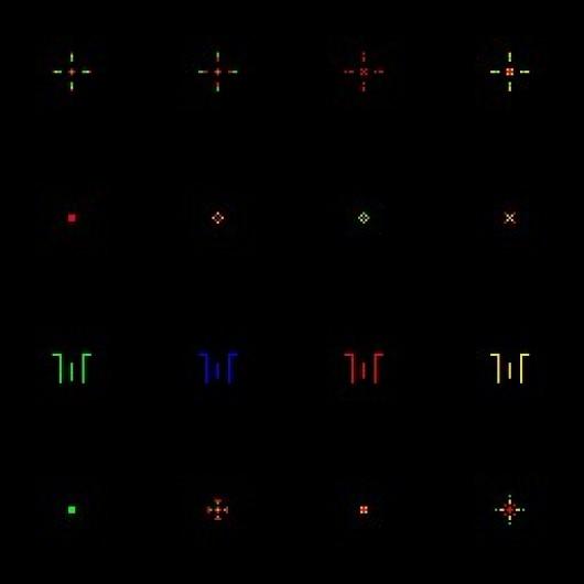 DoD 1.3 Crosshair Tutorial
