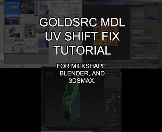 GoldSource Model Texture UV Shift Fix