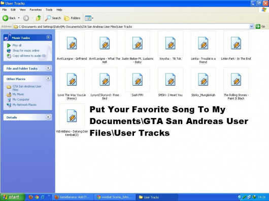 How To Install Your Favorite Song !