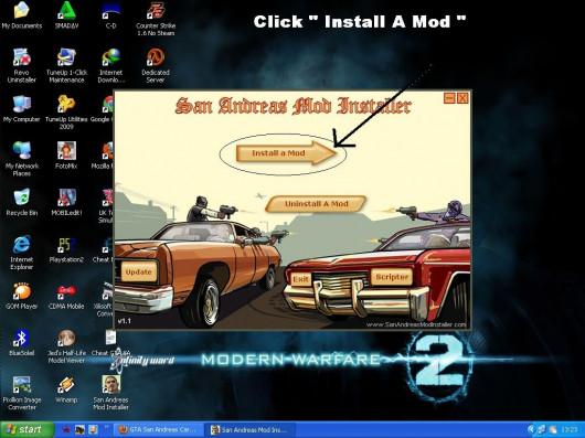 Install Mod GTA : SA ( Vehicle Only )