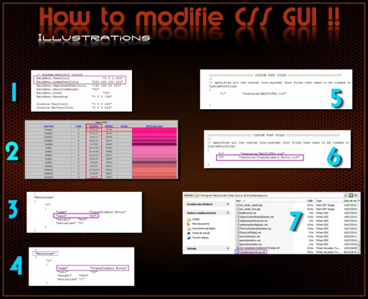 Css GUI: how to modify it !